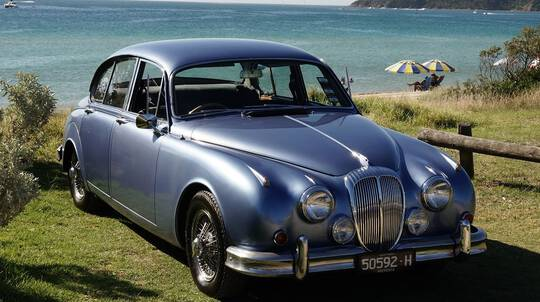 1965 Daimler V8 Full Day Car Hire