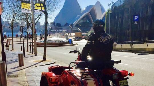 Sydney's Greatest Hits in Private Sidecar Tour