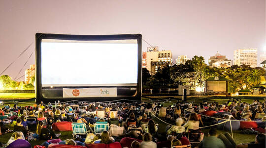 Sunset Outdoor Cinema Package - Sydney - For 2
