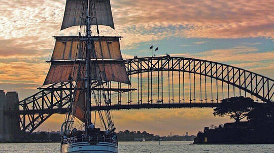Tall Ship Overnight Harbour Cruise with Dinner and Breakfast