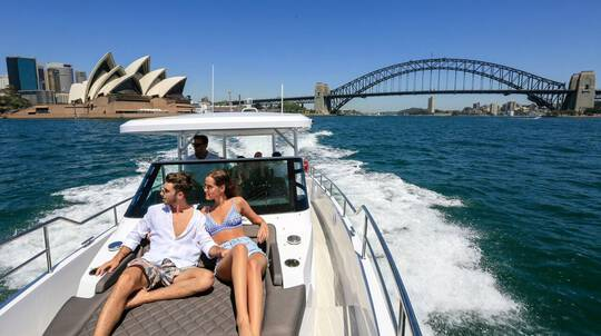 Private Sydney Harbour Cruise - 90 Minutes - For up to 10