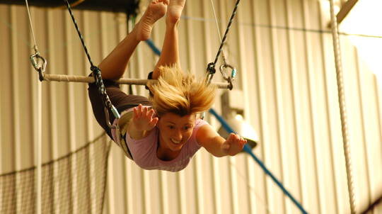 Indoor Flying Trapeze Class - With A Photo CD - For 2