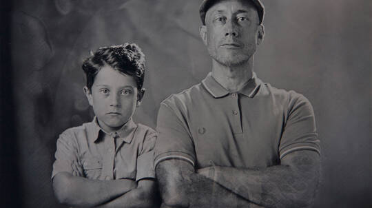 Wet Plate Collodion Portrait Session with Image