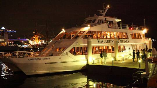 Rock 'n' Roll Cruise on Sydney Harbour with Dinner