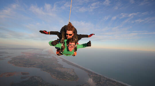 15,000ft Skydive Tandem Jump Over The Fleurieu Peninsula