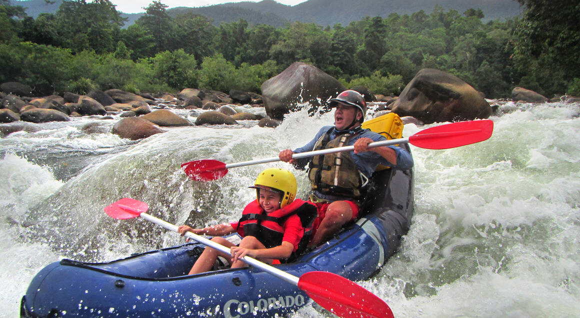 White Water Rafting on the Tully River - Half Day