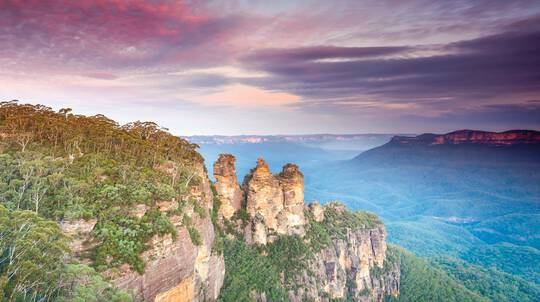 Blue Mountains Sunset Tour with Picnic Lunch