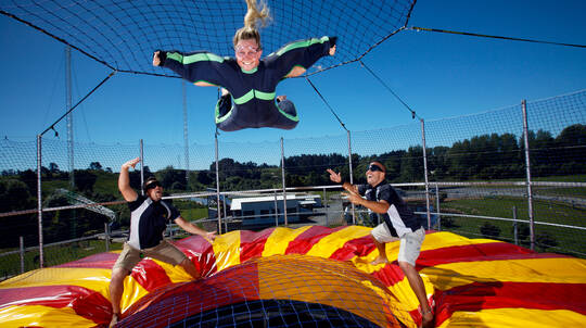 Xtreme Bullet, Swing, Jet or Fly - Family Pass 6 Activities
