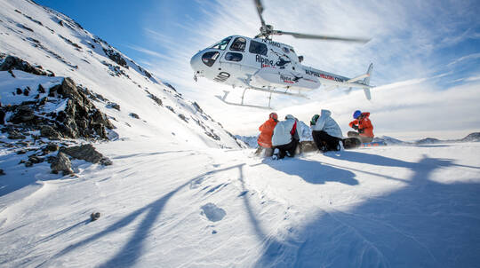 Heliski Day with Lunch and Transfers - 8 Runs