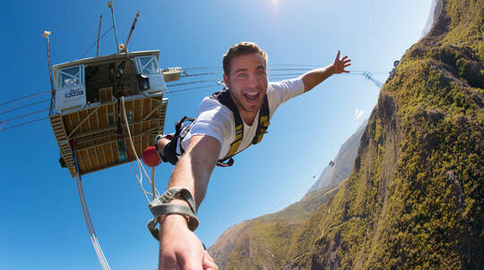 Queenstown 134m Nevis Bungy Jump with T-Shirt