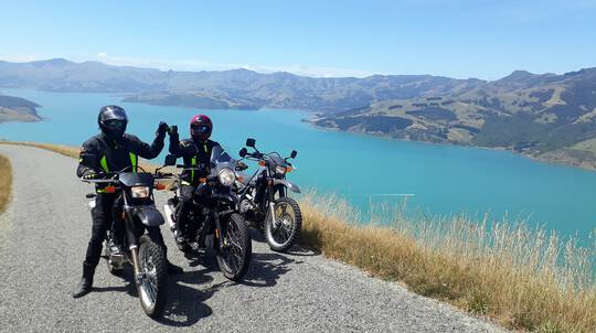 Banks Peninsula Guided Motorcycle Tour