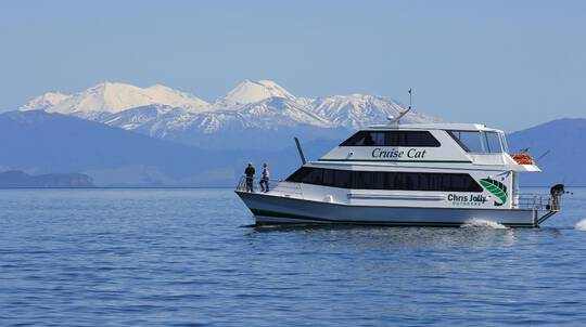 Scenic Cruise on Lake Taupo
