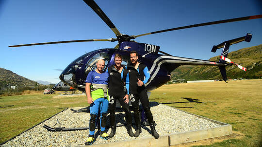 Helicopter Canyoning Adventure