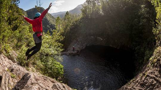 Sleeping God Canyoning Adventure with Photos - Full Day