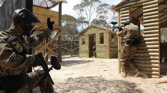 Paintball Experience with 200 Paintballs - Woodhill Forest