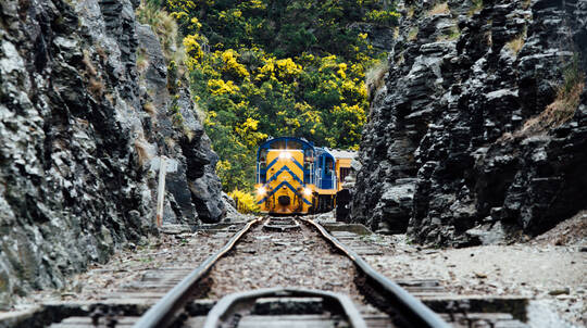 Taieri Gorge Railway Return Trip Dunedin to Pukerangi