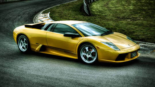 Drive a Lamborghini Murcielago Supercar with EvoX Hot Lap