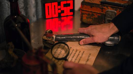 Beat the Clock Escape Room Experience - For 4