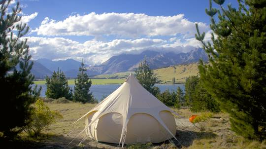 Overnight Glamping by Lake Wanaka - For 4