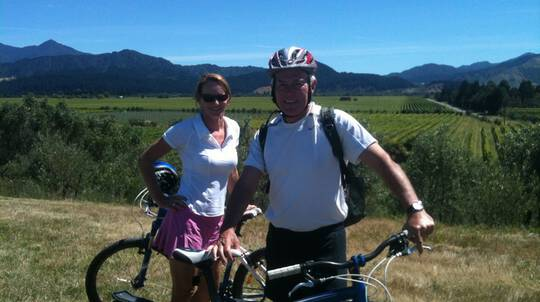 Deluxe Marlborough Guided Cycling Wine Tour - Full Day