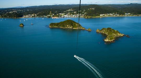 Parasailing in the Bay of Islands - For 3