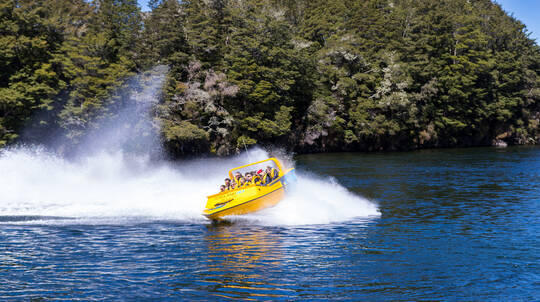 Pure Wilderness Jet Boating to Lake Manapouri