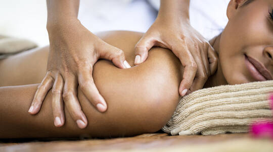 Polish Me Liscious Scrub and Bliss Me Back Massage Package