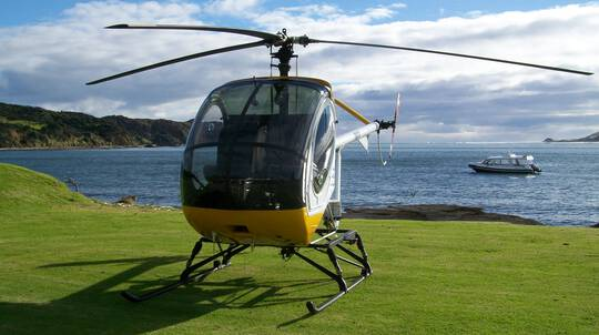 Introductory Trial Helicopter Flight in Auckland