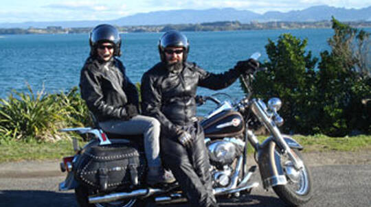 Harley Davidson Motorcycle Tour of Auckland - 2 Hours