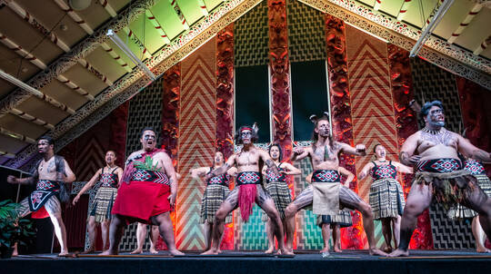 Nga Hau e Wha Marae Cultural Tour and Performance