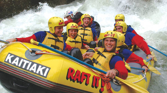 White Water Rafting on the Kaituna River - 3 Hours