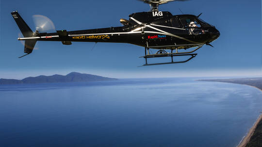 Kapiti Island and Mt Hector Scenic Helicopter Flight - For 2