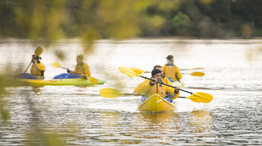 Self Guided Waikato River Trail Adventure with Night Kayak