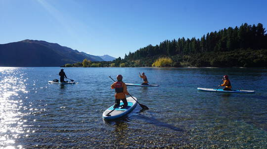 Stand Up Paddle Boarding Taster on the Clutha River