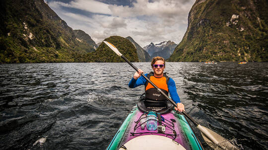 Kayaking on Doubtful Sound - Full Day