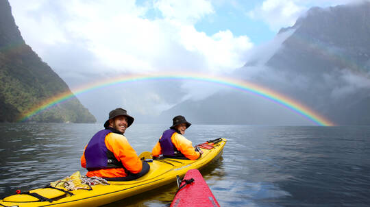 Milford Sound Kayak and Cruise Adventure - Full Day
