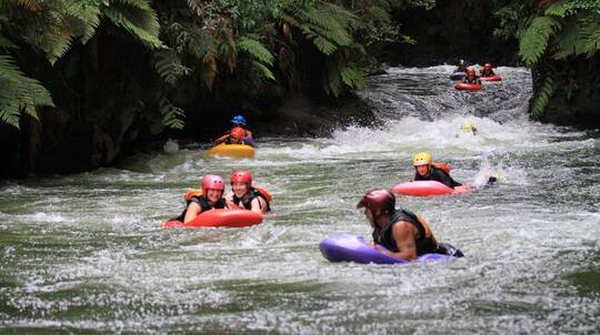 Whitewater Sledging on Kaituna River