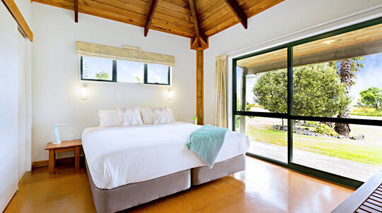 Two Night Chalet Getaway on Slipper Island - For 2