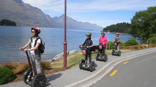 Guided Segway Tour of Queenstown - 2 Hours