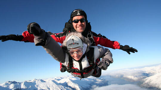 Tandem Skydive Over Queenstown - 12,000ft