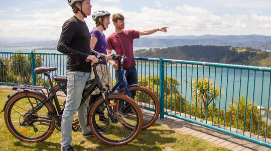 Electric Bays Tour - Guided Wellington Electric Bike Tour