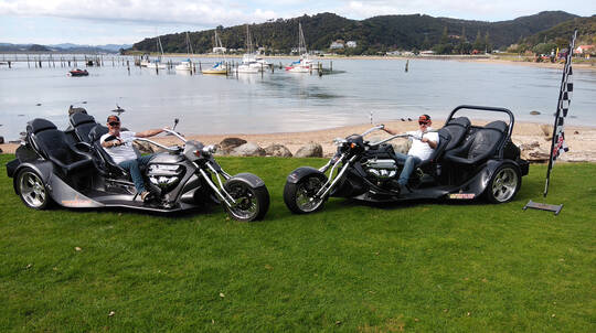 Bay of Islands Thrilling V8 Trike Tour - For 2