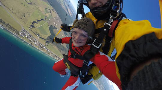 12,000ft Tandem Skydive Above Taupo with Rotorua Transfers