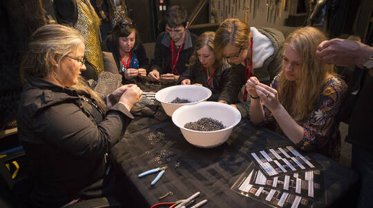 Create Chainmaille with the Weta Workshop Crew