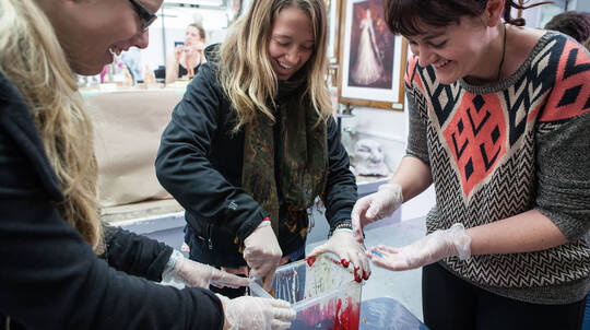 The Art of Fake Blood with the Weta Workshop Crew