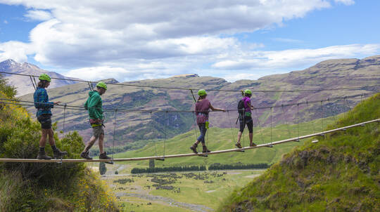Go Wild Scenic High Ropes and Trekking Adventure
